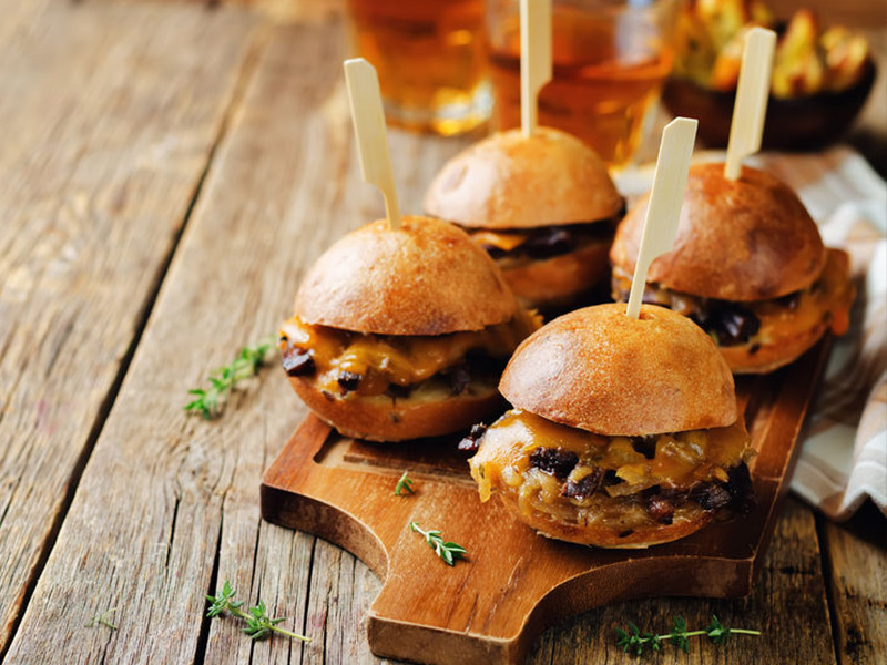 French Onion Melt Sliders