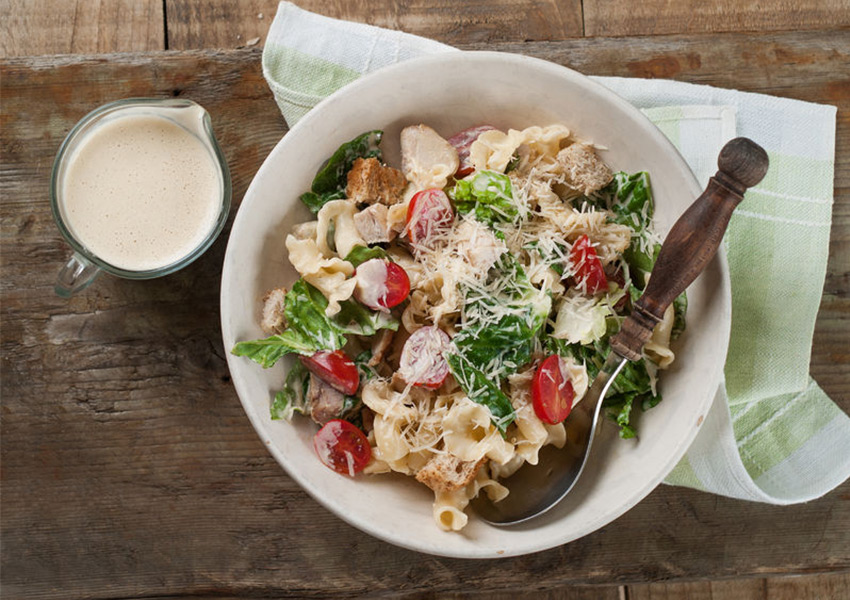 Smokey BLT Pasta Salad with Ranch