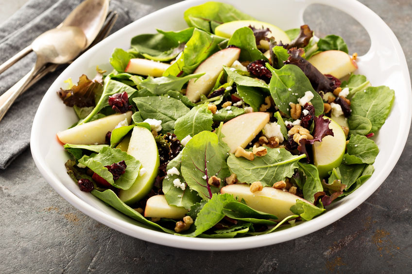 Apple Spinach Salad