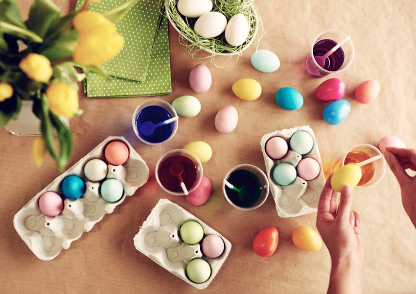 An Easter Tradition: Egg Decorating